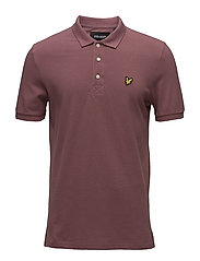 Polo Shirt - RED GRAPE