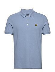 Polo Shirt - STONE BLUE