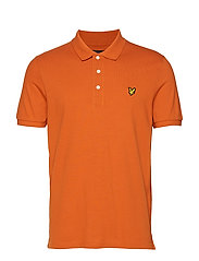 Polo Shirt - TOBACCO