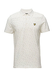Fil Coupe Polo Shirt - OFF WHITE