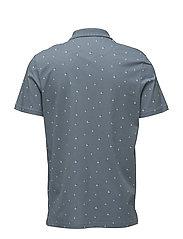 Beachball Print Polo Shirt