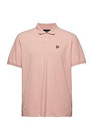 Plain Polo Shirt - CORAL WAY