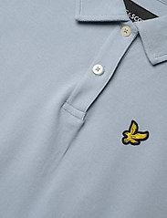 Lyle & Scott - Oversized Pique Polo Shirt - polohemden - blue lagoon - 2