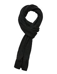 Mouline Scarf - TRUE BLACK/JADE GREEN