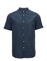 SS Indigo Oxford Shirt - LIGHT INDIGO