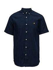 SS Indigo Oxford Shirt - DARK INDIGO