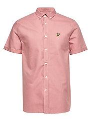 SS Oxford Shirt - CORAL WAY