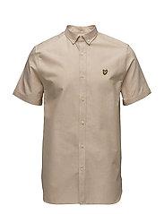 SS Oxford Shirt - HONEY