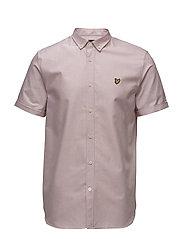 SS Oxford Shirt - PINK SHAKE
