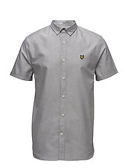 SS Oxford Shirt - URBAN GREY