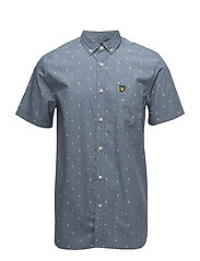 Beach Ball Print Shirt - MIST BLUE