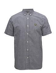 SS Gingham Shirt - NAVY