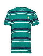 Stripe T-shirt - ALPINE GREEN