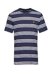 Multi Stripe T-Shirt - NAVY