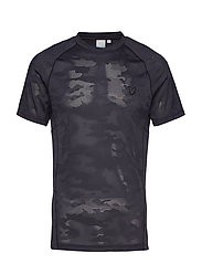 Black Ten SS T-Shirt - TRUE BLACK
