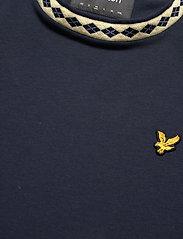 Lyle & Scott - Argyle Rib T-Shirt - t-shirts basiques - dark navy - 2