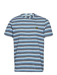 Multi Stripe T-Shirt - DECK BLUE