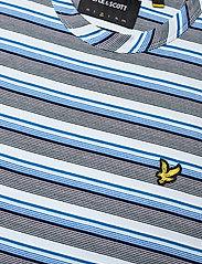 Lyle & Scott - Multi Stripe T-Shirt - t-shirts à manches courtes - deck blue - 2