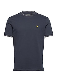 Seasonal Branded Ringer T-shirt - DARK NAVY