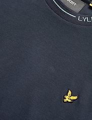 Lyle & Scott - Seasonal Branded Ringer T-shirt - t-shirts basiques - dark navy - 2