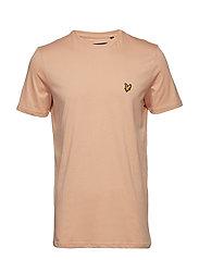 Crew Neck T-Shirt - DUSKY CORAL