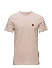 Crew Neck T-Shirt - DUSTY PINK