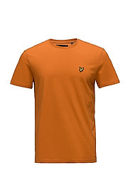 Crew Neck T-Shirt - FIERY ORANGE