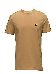 Crew Neck T-Shirt - HONEY
