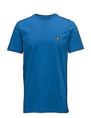 Crew Neck T-Shirt - LAKE BLUE