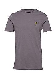 Crew Neck T-Shirt - PELICAN GREY