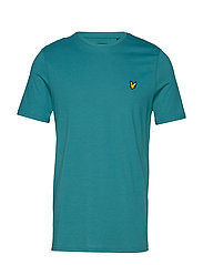 Crew Neck T-Shirt - PETROL TEAL