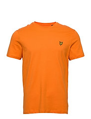 Crew Neck T-Shirt - RISK ORANGE