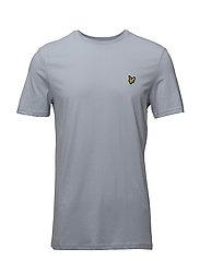 Crew Neck T-Shirt - STONEWASH BLUE