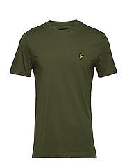 Crew Neck T-Shirt - WOODLAND GREEN