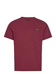 Plain T-Shirt - MERLOT