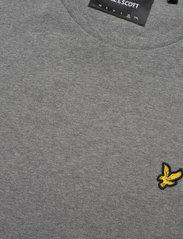 Lyle & Scott - Plain T-Shirt - podstawowe koszulki - mid grey marl - 2