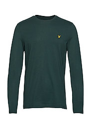 LS Crew Neck T-shirt - JADE GREEN