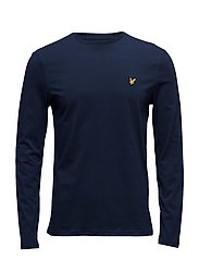 LS Crew Neck T-shirt - NAVY