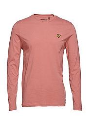LS Crew Neck T-shirt - PINK SHADOW