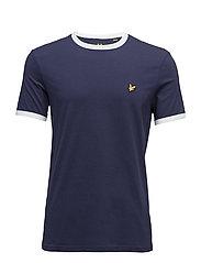 Ringer T-Shirt - NAVY