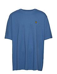 Crew Neck T-Shirt - LAPIS BLUE