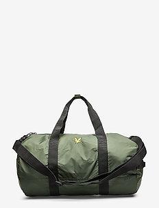 Lightweight Barrel Bag - JADE GREEN
