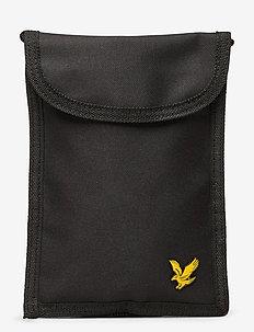 Neck Pouch - shoulder bags - true black