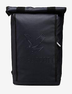 Roll Top Backpack - reput - dark navy