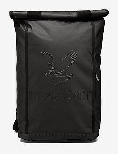 Roll Top Backpack - backpacks - true black