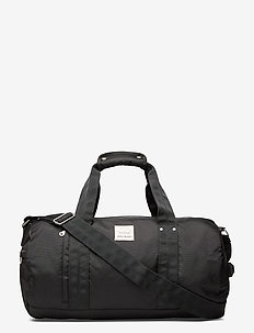 Nylon Barrel Bag - weekendtasker - true black