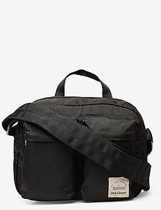 Nylon Camera Bag - shoulder bags - true black