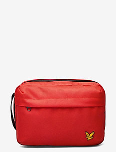 Washbag - toilettassen - burnt orange