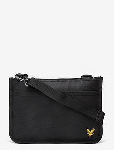 Flat Pouch - shoulder bags - true black