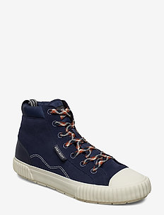 Cairns - baskets montantes - dark navy